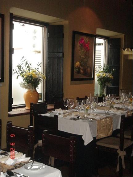 Restaurante casa do campo restaurantes de portugal for Restaurantes casa de campo