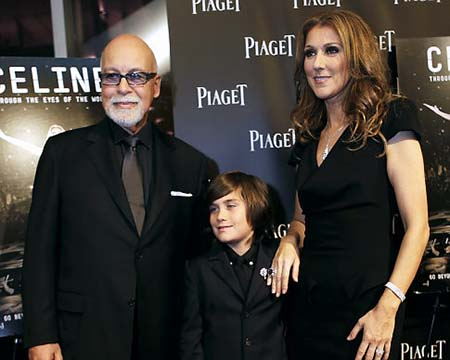 42 years old Celine Dion is 14 months pregnant with twins as a result of her ...