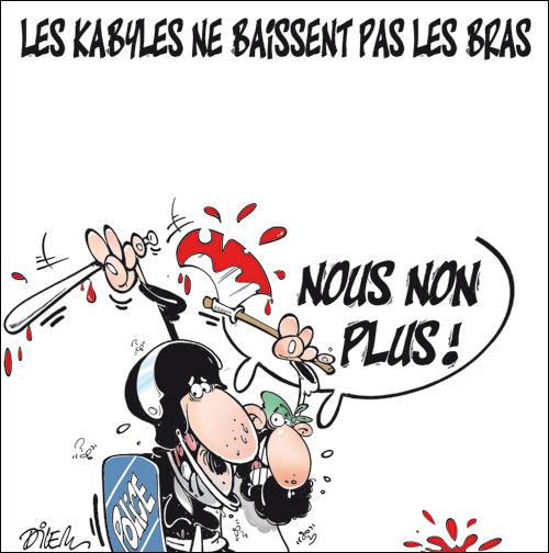 La revolte kabyle 01 08 11 for S cuisine tizi ouzou