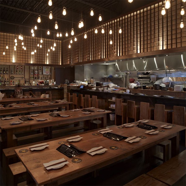 Contemporist architecture guu izakaya restaurant design
