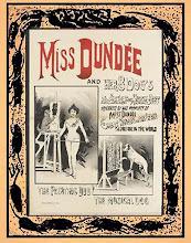 Miss Dundee. dresseuse de chiens Alice Guy