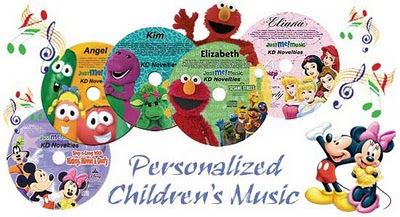 Personalized Kids Music
