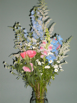 Snapdragon Bouquet Blue