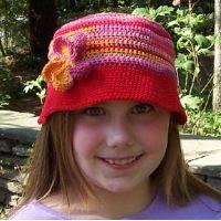 Crochet bucket hat, Key West