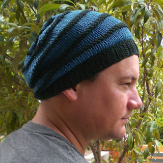 Slouchy beanie, bamboo