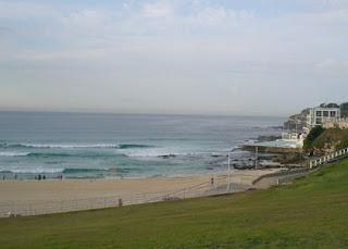 Bondi Beach Surf Life Savers' Club and ocean pool