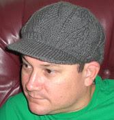 Visor beanie knit pattern