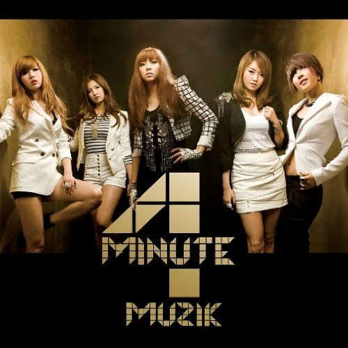 4minute muzik digital single japanese version