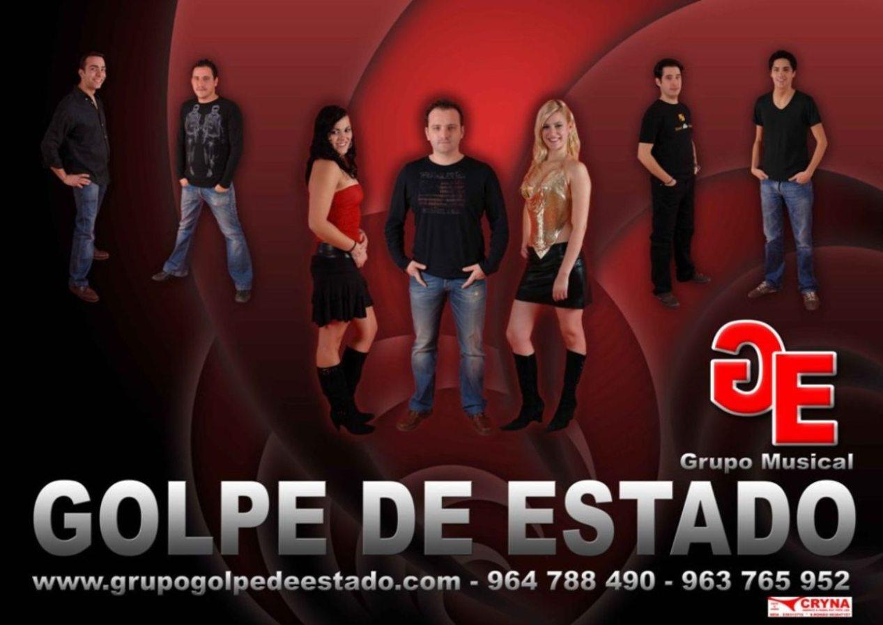 GOLPE DE ESTADO-grupo musical de Seia