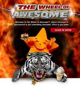 Hardees printable coupon win game free