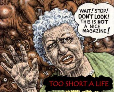 TOO SHORT A LIFE