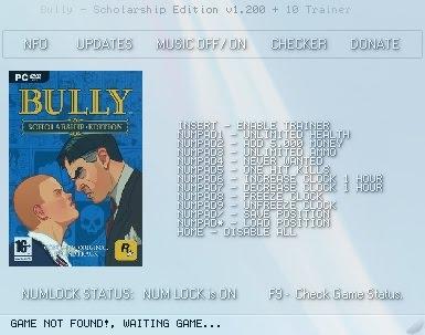 Bully scholarship edition pc cheats