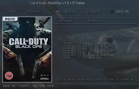читы для Call Of Duty Black Ops Zombies скачать - фото 9