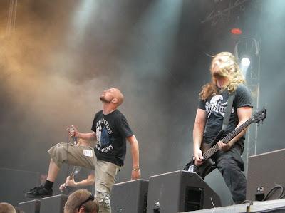 Jens Kidman och Dick Lövgren, Meshuggah