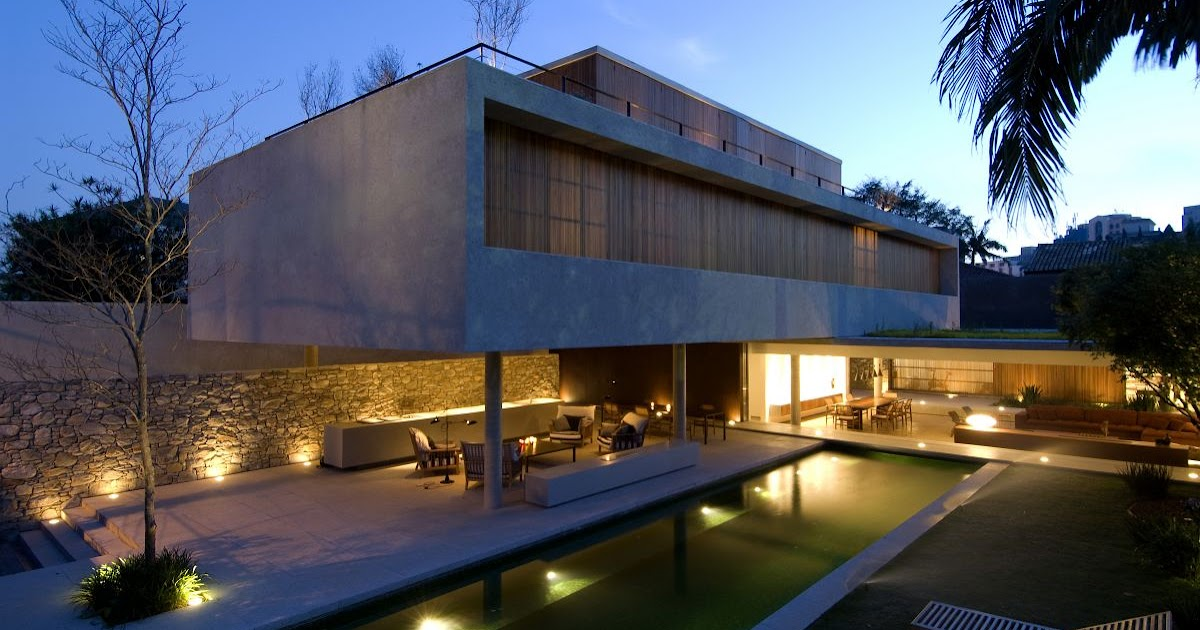 amassing design house 6 marcio kogan - Architecture Design Houses