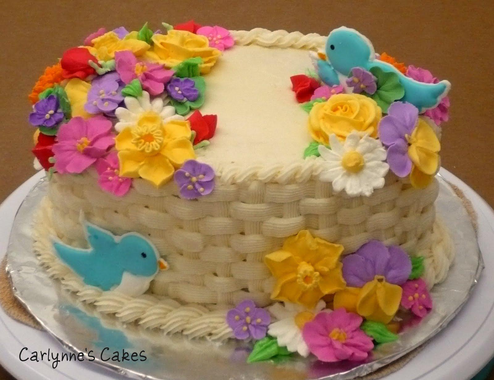 carlynne 39 s cakes spring cake