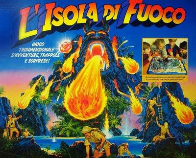 I favolosi anni 80: mb: un brivido sull' isola di fuoco