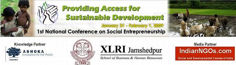 1st Social Entrepreneurship Conference @ XLRI
