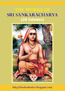 Hinduism EBooks: Complete Works of Sri Sankaracharya (Sanskrit) - 20 Volumes