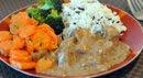 ryż tofu marchewka