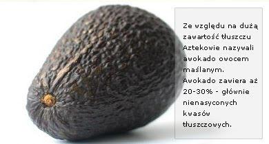 Awokado właściwosci wartosc odzywcza witaminy mikroelementy kalorie kcal