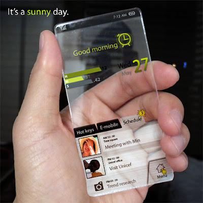 Úžasný kocept mobilu