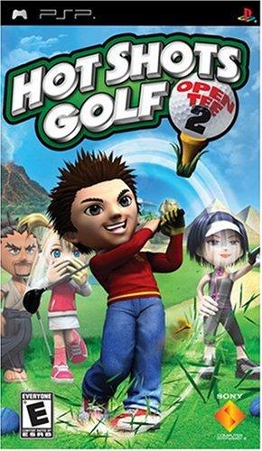 tee psp 2 hot shots open golf: