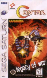 Contra Legacy Of War saturn