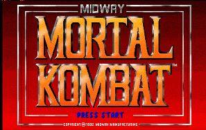 Mortal Kombat mega drive