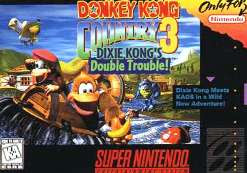 Donkey Kong Country 3 Dixie Kong's Double Trouble