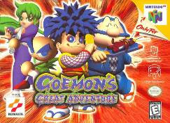 Goemon's Great Adventure n64