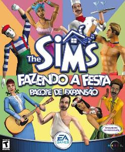 the sims: fazendo a festa