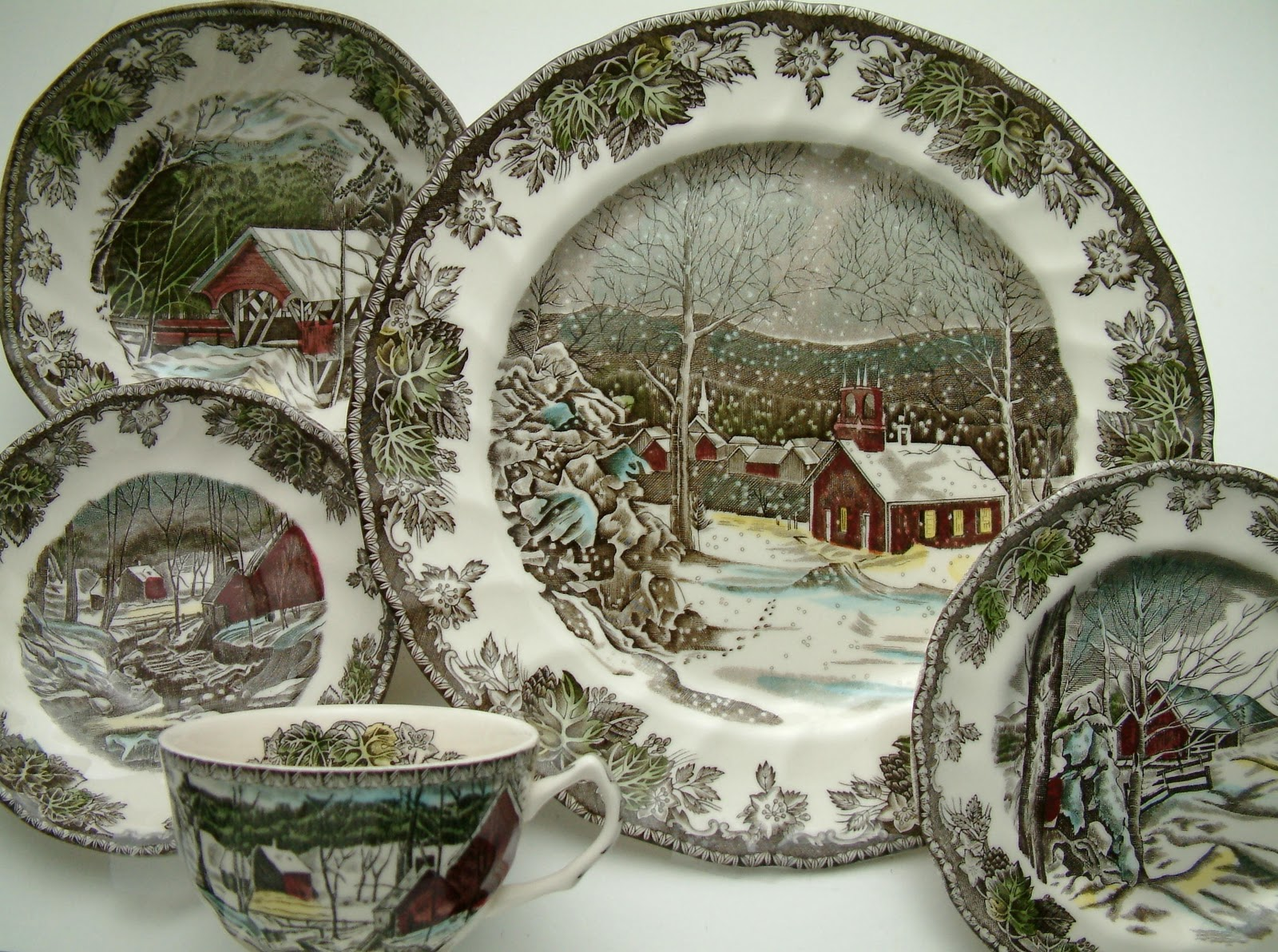 Estelle\'s: Johnson Brothers, Transferware and Toile....Past and Present!