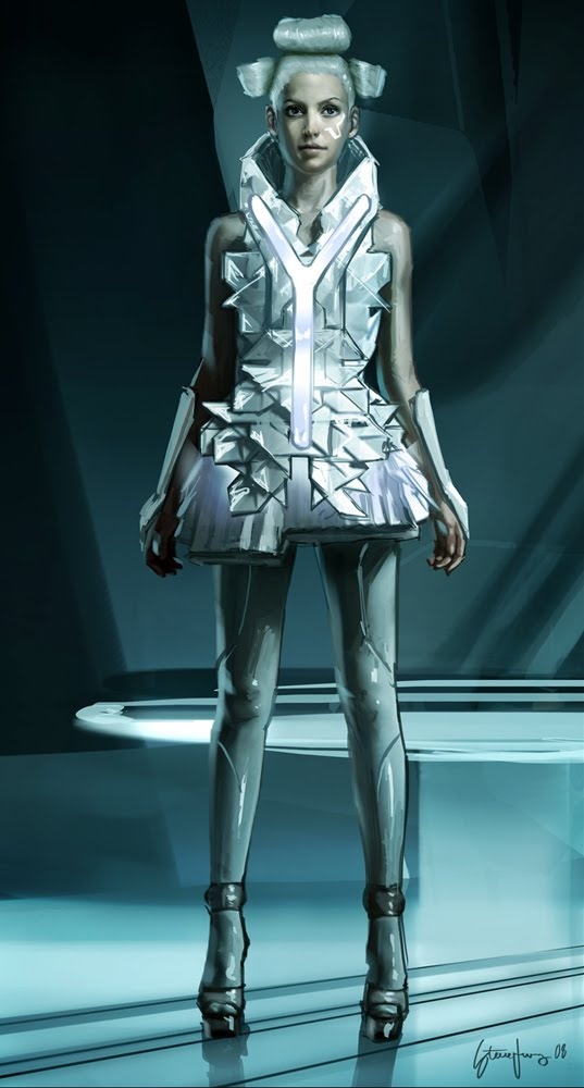 Tron Legacy Costume Design. Early study of Zeus  sc 1 st  Art of STEVE JUNG & Art of STEVE JUNG: Tron Legacy Costume Design
