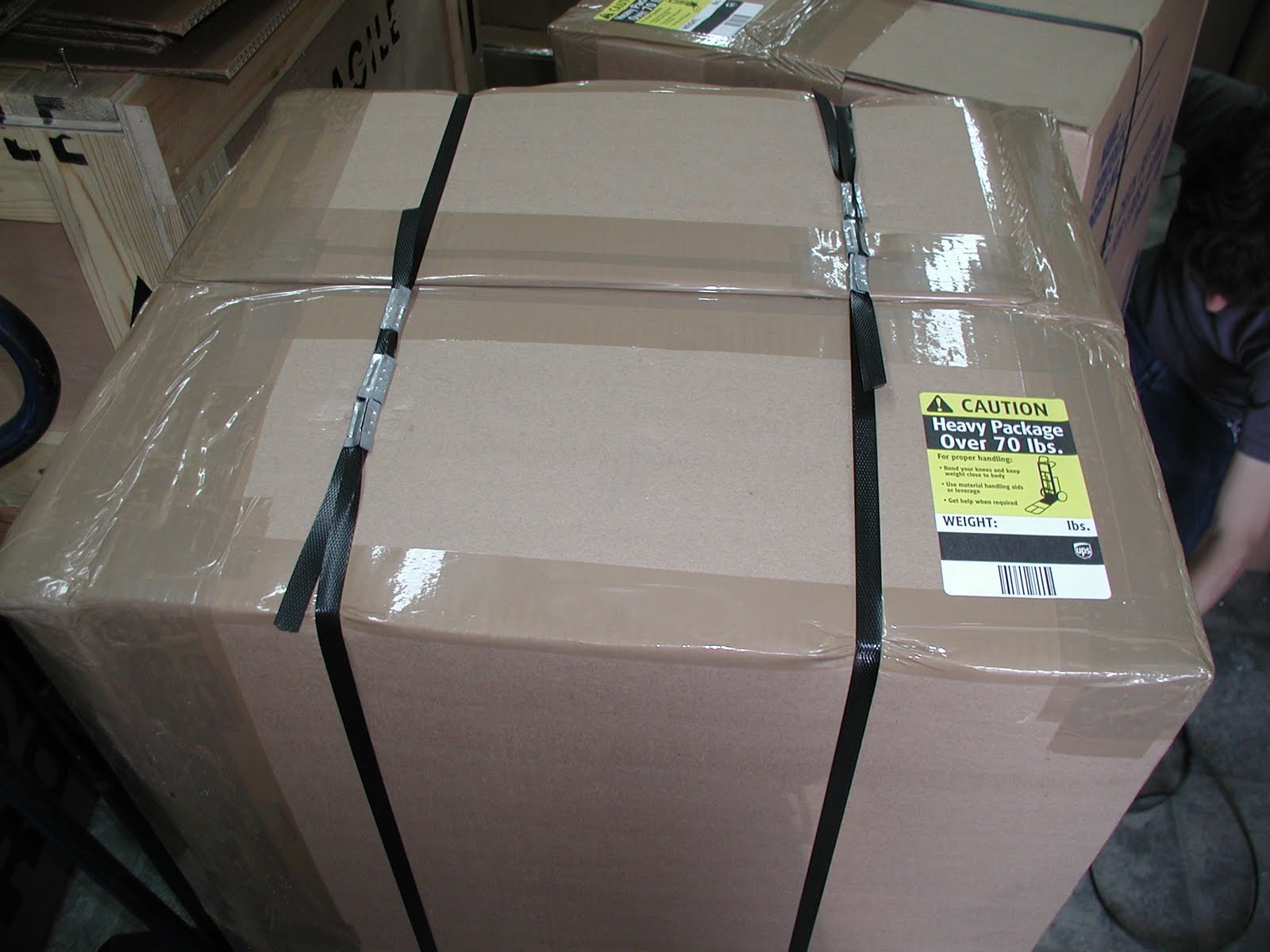 Box Brothers Corp Heavy Boxes 70lbs Ups Fedex