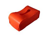 プラスチック製ティッシュボックス