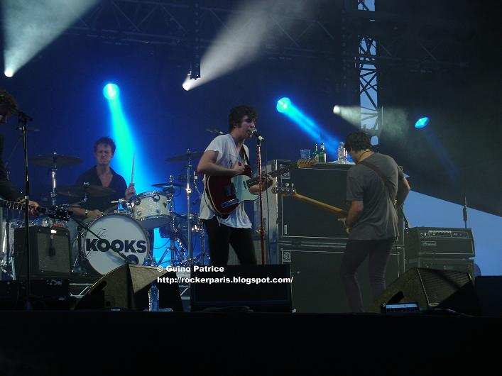 Rockerparis The Kooks Brmc Blink 182 Rock En Seine August 27 2010