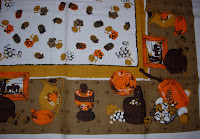 Thanksgiving Vintage Tablecloth