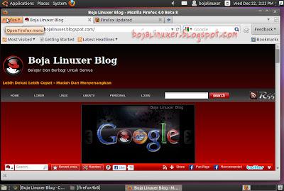 Firefox 4 Linux