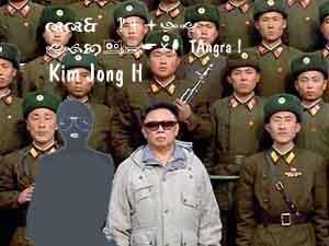 TAngra e o louco Kim Jong Il