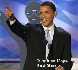 TAngra e Barak Obama