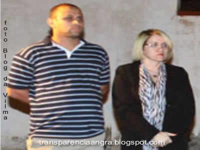 Bruno Orefice e Vilma dos Santos