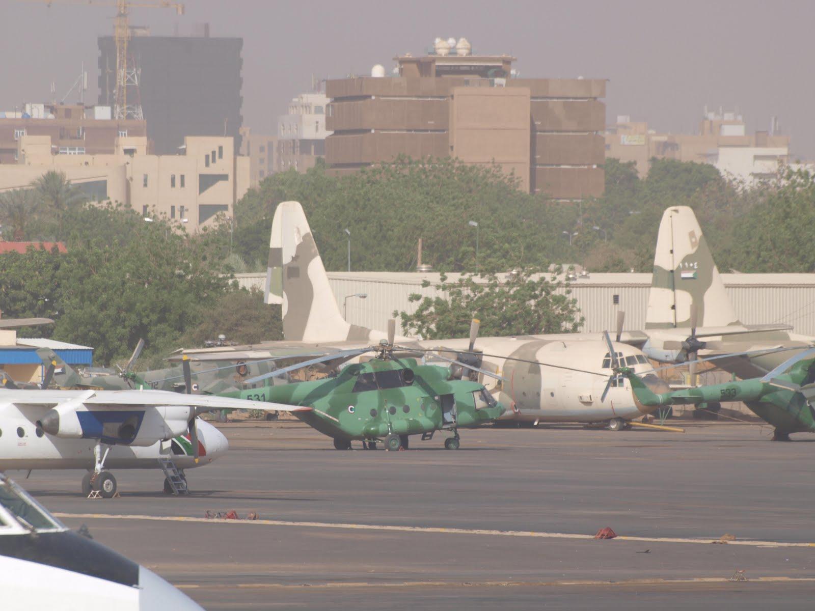 Armée Soudanaise / Sudanese Armed Forces ( SAF ) JARTUM+SUDAN+31-03-2010+MI-17+531