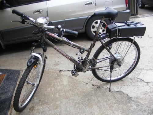 Photo sepeda Federal yang sudah menjadi sepeda listrik