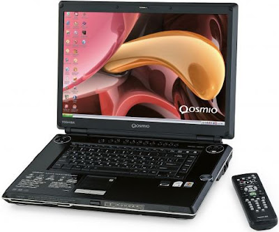 The Toshiba Qosmio G35-AV600 laptop