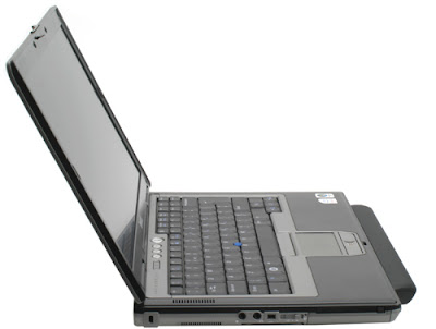 Dell Latitude D630 left side view