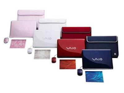 The Vaio, Sony's premium laptop