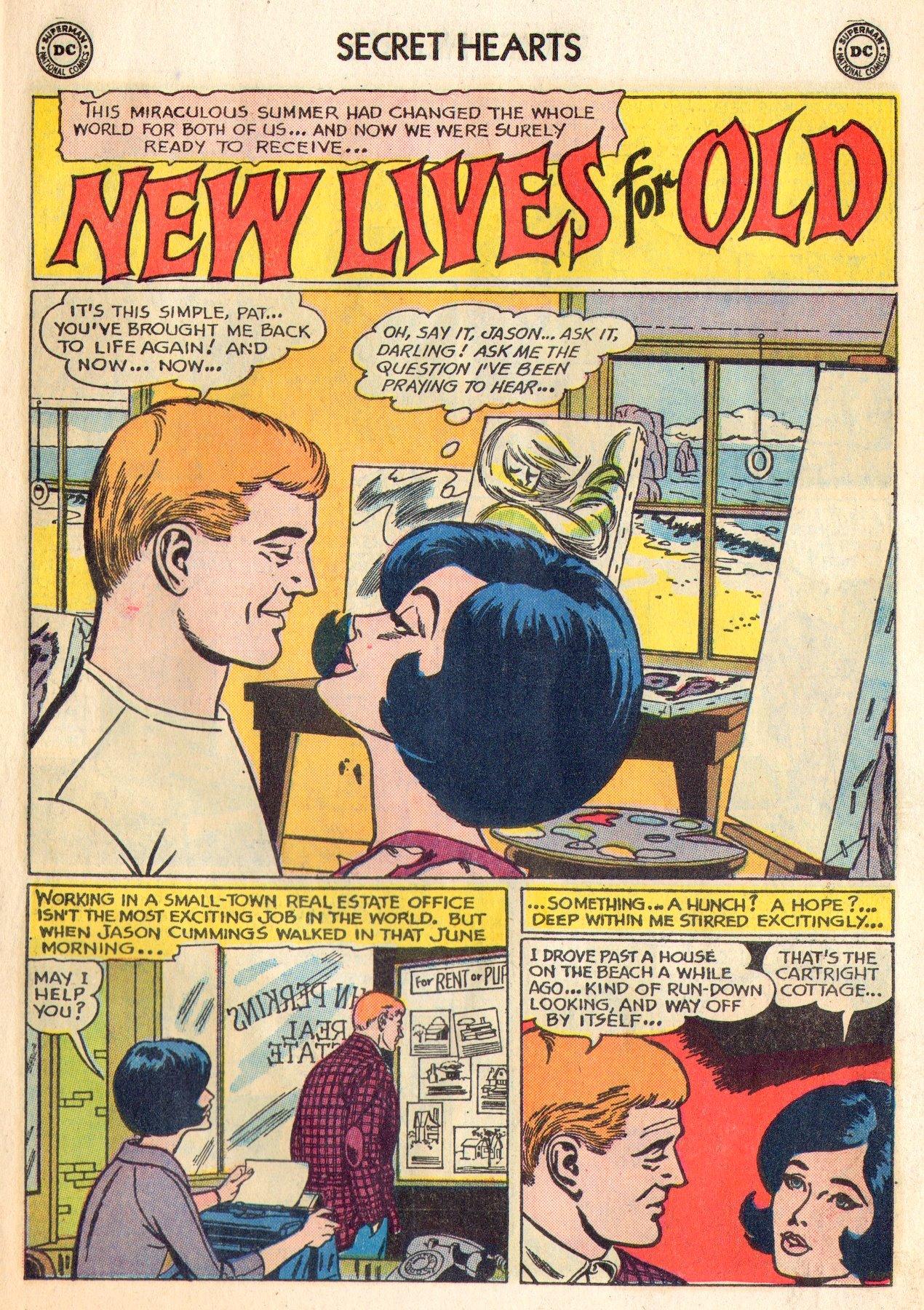 Read online Secret Hearts comic -  Issue #84 - 11