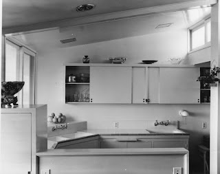 gregory ain - altadena - park planned home kitchen, circa 1946 - 1