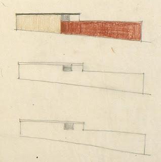 gregory ain - altadena - sketch for park planned homes - set 2